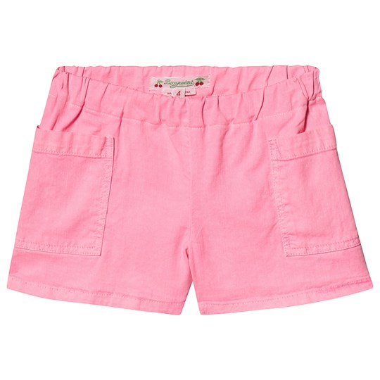 Bonpoint Pink Shorts with Square Pockets 026
