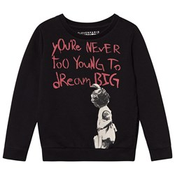 Eleven Paris Black Banksy Dream Big Sweater