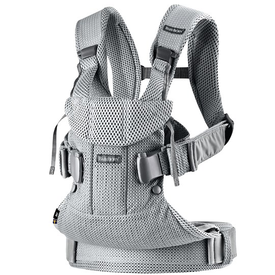 Babybjörn Baby Carrier One Air Silver Silver, Mesh