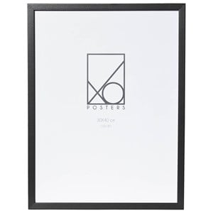 Image of XO Posters Wooden Frame 30 x 40 Black (3148271215)