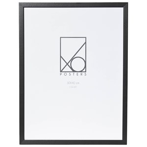 Image of XO Posters 30x40 Frame Wood Black One Size (1348581)