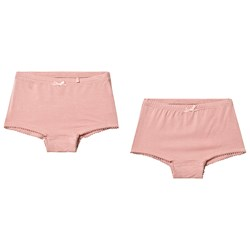 Minymo Hipsters 2-pack Bamboo Misty Rose