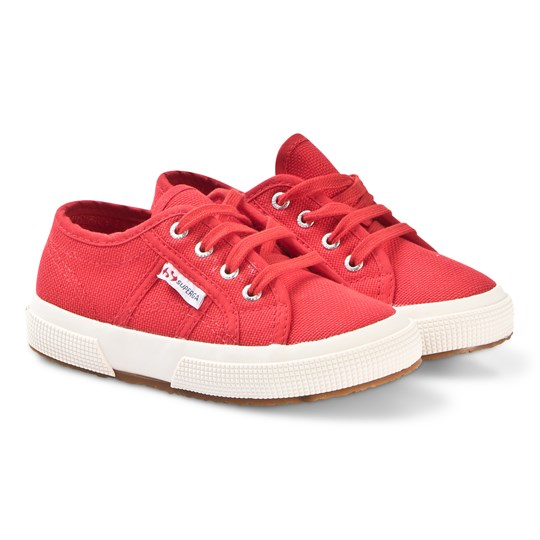 Superga Red Jcot Classic Canvas Shoes 975 RED