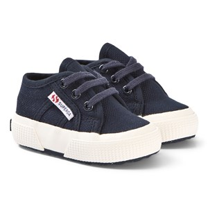 Image of Superga BebeJ Infant Canvas Sneakers Navy 23 (UK 6) (3148257805)