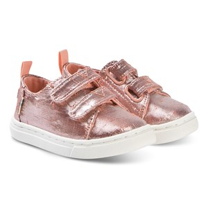 Image of Toms Lenny Tiny TOMS Sneakers Persimmon/Metallic 22 (UK 5) (3148257321)