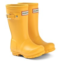 22aa55b47 Hunter Hunter Original Kids Wellington Boots Yellow Yellow