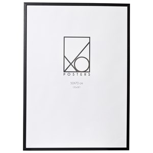 Image of XO Posters Frame Wood 50x70 cm Black One Size (1348582)