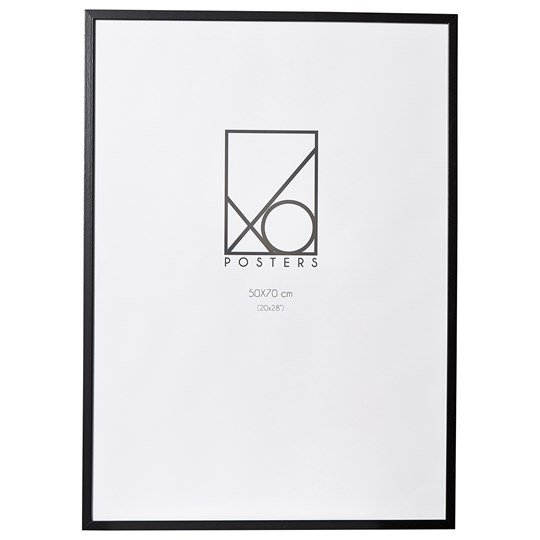 XO Posters Frame Wood 50x70 cm Black