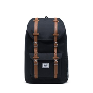 Image of Herschel Little America Youth Backpack Black/Saddle Brown (3149054415)