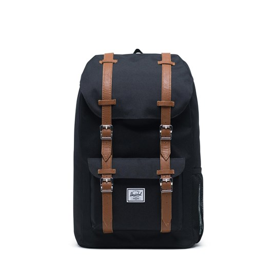Herschel Little America Youth Ryggsäck Svart/Saddle Brown Black Saddle Brown