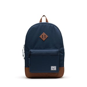 Image of Herschel Heritage Youth XL Backpack Navy/Saddle Brown (3149054411)