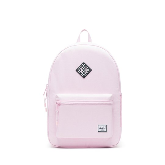 Herschel Heritage Youth XL Backpack Pink Lady/Checkerboard Pink Lady Crosshatch Checkerbo
