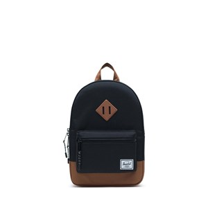 Image of Herschel Heritage Kids Backpack Black/Saddle Brown (3149054393)