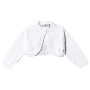 Image of Dr Kid Knitted Cardigan White 12 months (3149053311)