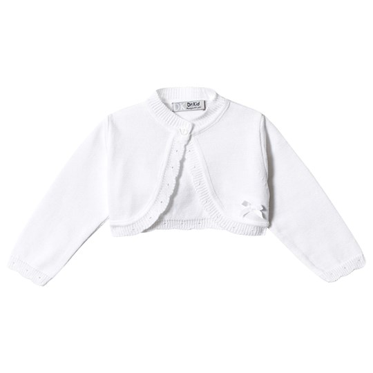 Dr Kid White Knitted Cardigan 000