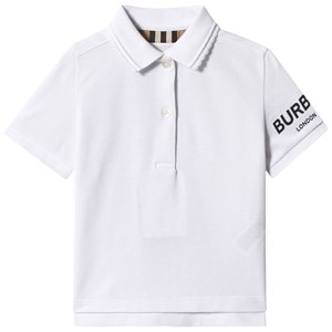 Image of Burberry Logo Polo White 3 years (3149054087)