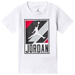 Air Jordan White Jumpman Moto Graphic Tee