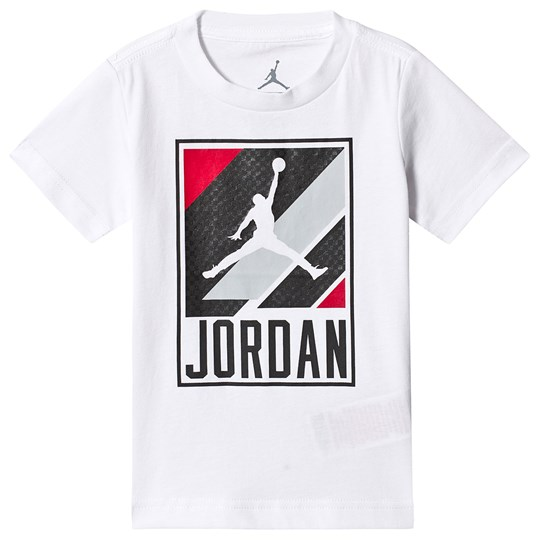 Air Jordan Jumpman Moto Graphic T-shirt Vit 001