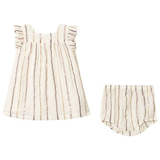Bonton Dress with Bloomer Ray Or/Rose RAY OR/ROSE
