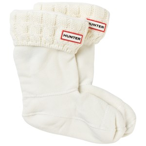 Image of Hunter Kids Cable Knit Boot Socks Cream L (UK 13-2) (3149053279)