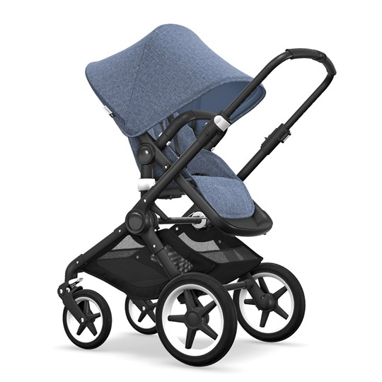 Bugaboo Fox Stroller Styled by You Blue Melange Blue Melange