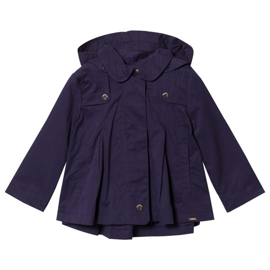 Mayoral Trench Coat with Removable Hood Navy 90