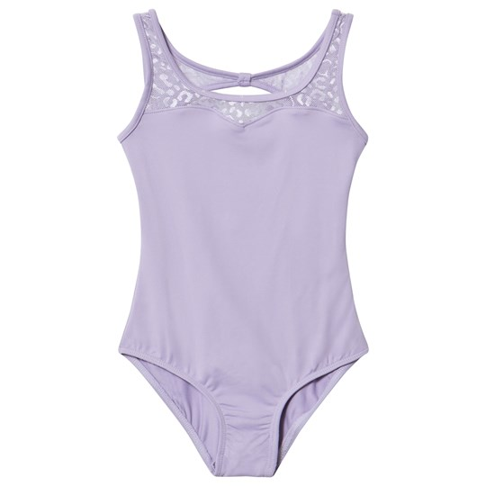 Mirella Lilac Sweetheart Neckline Felina Open Back Leotard LLC