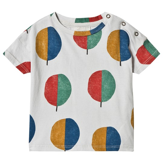 Bobo Choses Forest Short Sleeve T-Shirt Raindrops Raindrops