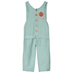 Bobo Choses Know Baggy Jumpsuit Beryl Green