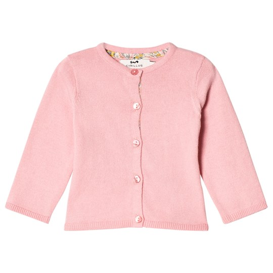 Cyrillus Pink Cotton Stitch Cardigan 6649