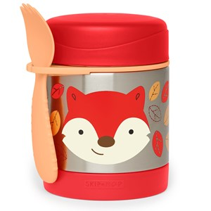 Image of Skip Hop Zoo Insulated Food Jar Fox One Size (1351904)