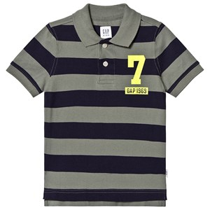 Image of GAP Rugby Polo Top Vintage Palm XS (4-5 år) (1344339)