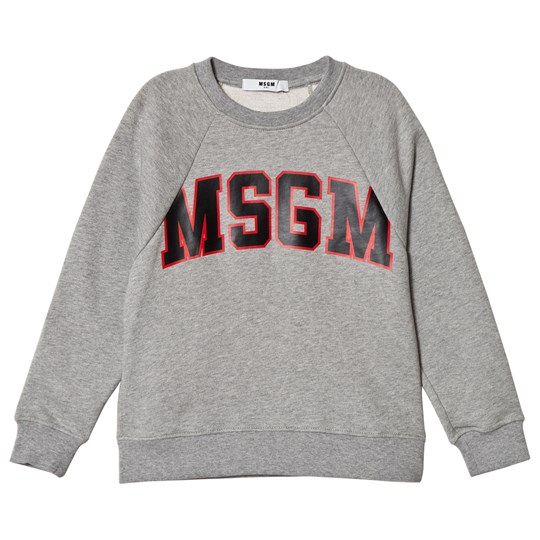 MSGM Grey Logo Sweatshirt 101