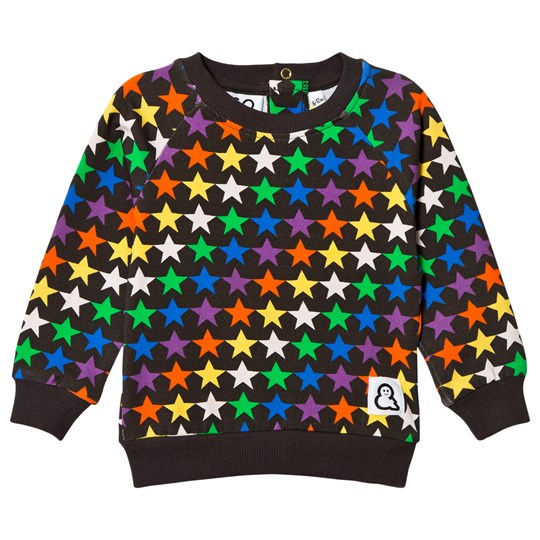 Boys & Girls Night Stars Crew Top Multicolor Multi