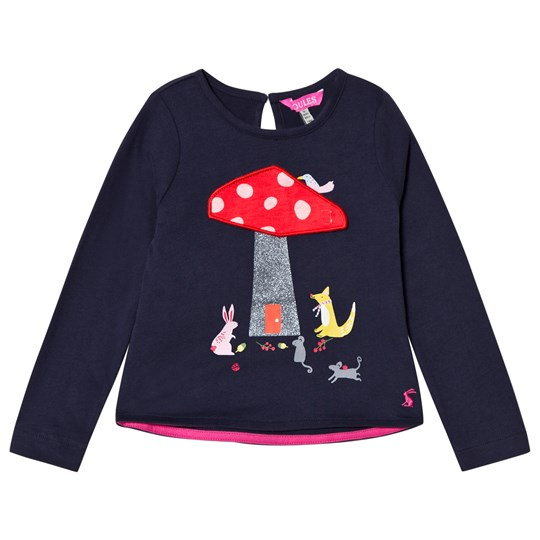 Tom Joule Navy Chomp Toadstool Long Sleeve Tee NAVY TOADSTOOL