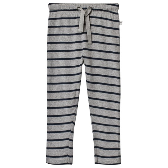 Wheat Nicklas Pants Grey Melange and Navy melange-grey navy