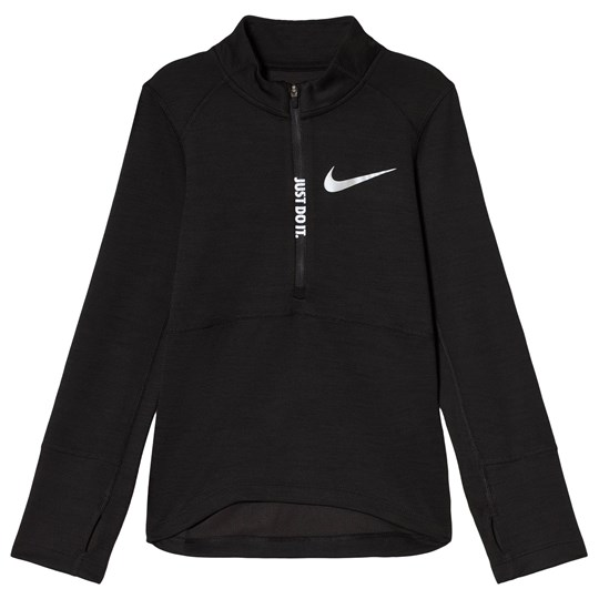 NIKE Black Nike Pacer Half Zip Running Top 010