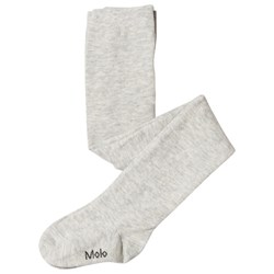 Molo Solid Tights Light Grey Melange