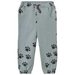 The Bonnie Mob Herc Sweatpants Teal Paws