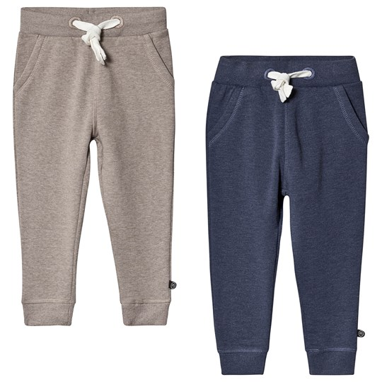 Minymo Basic Sweat pant 2-pack Ensign Blue Ensign Blue