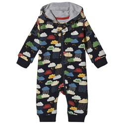 Frugi Navy Warm Scandi Skies One-Piece