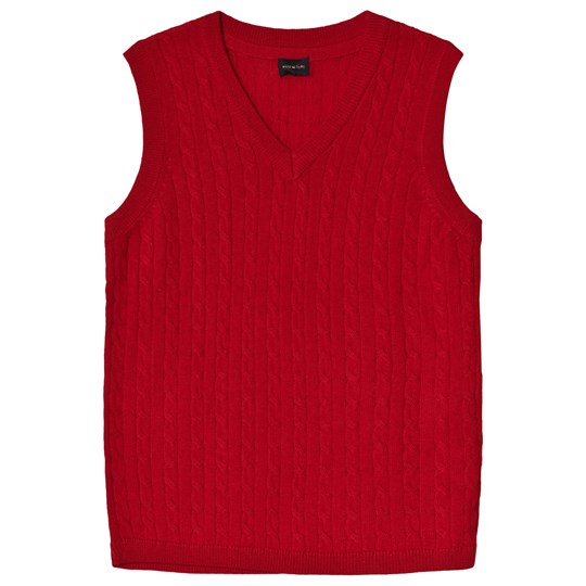 Mini A Ture MK Robbi Knit Vest Red Chinese Red