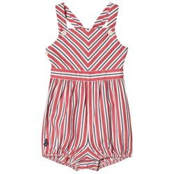 Ralph Lauren Red Chevron Stripe Bubble
