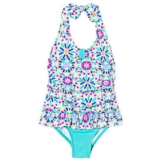 Lands' End Multi Print Swimsuit 7IU