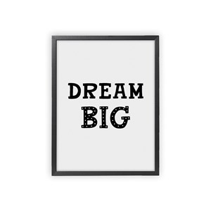 Image of XO Posters Dream Big Poster 30x40 cm (3148271019)