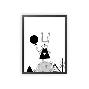 Image of XO Posters Poster Rabbit 30x40 cm (1356548)
