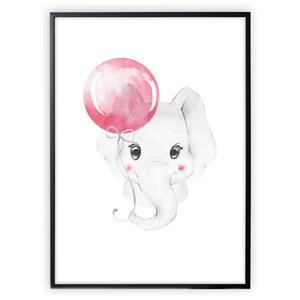 Image of XO Posters Poster Baby Elephant 30x40 cm (1356550)
