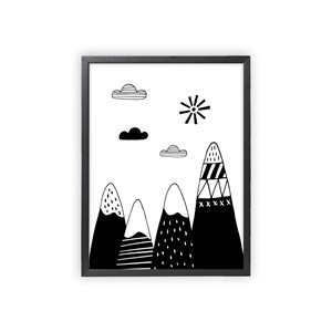 Image of XO Posters Poster Mountains 30x40 cm (1356561)