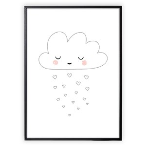 Image of XO Posters Poster Cloud 30x40 cm (1356562)