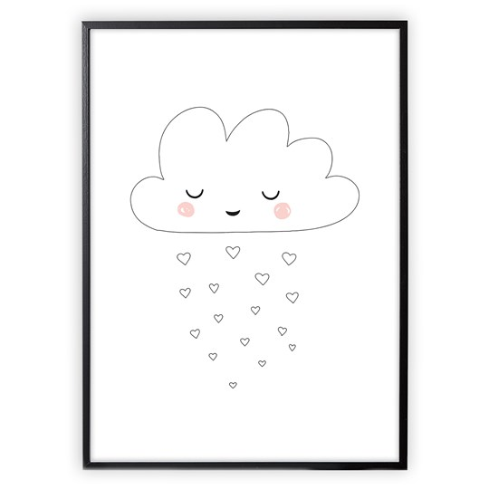 XO Posters Poster Cloud